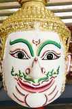 Khon, Angel mask in native Thai style Stock Image