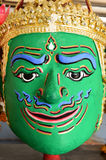 Khon, Angel mask in native Thai style Royalty Free Stock Photography
