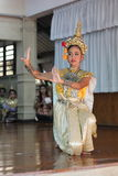 Khon culture dance thailand Royalty Free Stock Photography