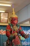 Khon culture dance thailand Stock Photography