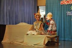 Khon culture dance thailand Stock Photo