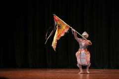 Khon, Dance drama from Thailand. Stock Photos