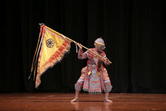 Khon, Dance drama from Thailand. Royalty Free Stock Photography