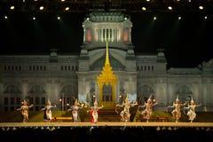 Khon, Dansprestaties van Thailand Stock Foto's