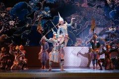 Khon, Dansprestaties van Thailand Stock Afbeelding