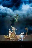 Khon, desempenhos da dança de Tailândia Fotos de Stock Royalty Free