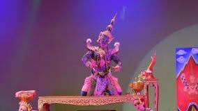 Khon, el alto arte del tailand?s con elegancia almacen de video