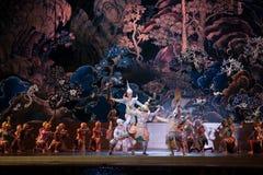 Khon, funcionamientos de la danza de Tailandia Imágenes de archivo libres de regalías