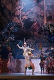 Khon, funcionamientos de la danza de Tailandia Fotografía de archivo