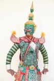 Khon, genere di dramma tailandese Fotografia Stock Libera da Diritti