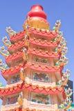 Khon Kaen市柱子 库存照片