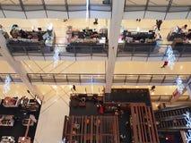 KHON KAEN,泰国- 11月14 :百货商店顶视图  库存图片