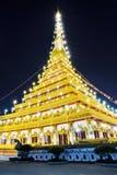 KHON KAEN świątynia Obraz Royalty Free
