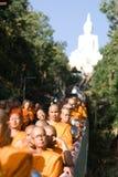 Khon Kaen, Tailandia - 28 ottobre: Tak Bat Devo Rohana è il Festiv Fotografia Stock