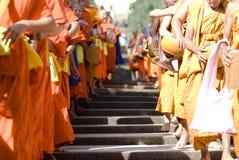 Khon Kaen, Tailandia - 28 ottobre: Tak Bat Devo Rohana è il Festiv Immagine Stock