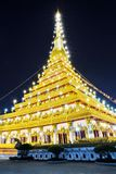 Khon Kaen Temple Royalty Free Stock Image