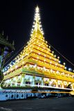 Khon Kaen Temple Royalty Free Stock Photography