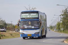 Khon Kaen to Surin bus car Stock Images