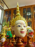 Khon mask. Stock Photography