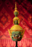 Khon masks Stock Images
