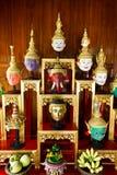 Khon Masks, Thailand Royalty Free Stock Images