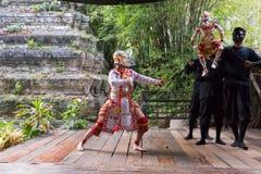 Khon performance Royalty Free Stock Photos