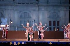 Khon, prestazioni di ballo della Tailandia Fotografia Stock Libera da Diritti