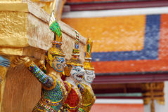 Khon at the temple Stock Photos