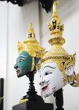 Khon(thai actor mask) Royalty Free Stock Photography