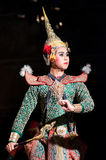 Khon-Thai culture drama dance show Stock Images