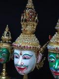 Khon, thailändische Maske Lizenzfreie Stockfotografie