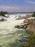 Khone Falls - Laos Royalty Free Stock Photo