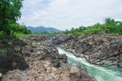 Khone Phapheng στοκ φωτογραφία με δικαίωμα ελεύθερης χρήσης