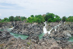 Khone Phapheng στοκ φωτογραφίες