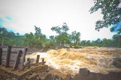 Khone phapheng falls Stock Photos