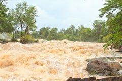 Khone phapheng falls Royalty Free Stock Image