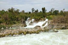 Khone Phapheng Waterfall Stock Photos