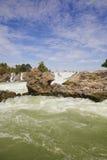 Khone Phapheng Waterfall Royalty Free Stock Photo