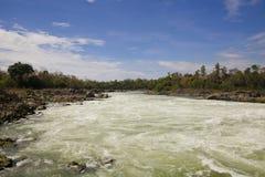 Khone Phapheng Waterfall Stock Image