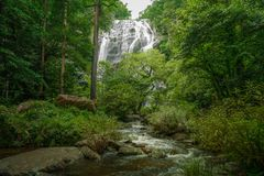Khong lan waterfall. At national park, Kampengpech Province, Nothern Thailand Royalty Free Stock Photography