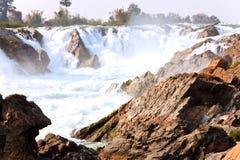 Khong pha Peng-Wasserfälle stockfoto