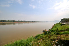 Khong river Thailand Royalty Free Stock Photography