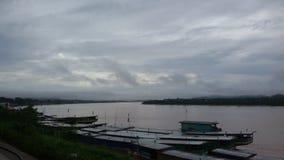 Khong rzeka Fotografia Stock
