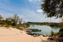 Khongyai plaża Don Khone Laos Obraz Stock
