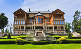 The Khonka house in Mezhyhirya. Ukraine. It is former residence of ex-president Yanukovich, now it is open to the public Royalty Free Stock Image