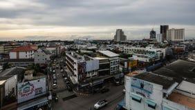 Khonkaen Bird's-eye view at Fairy Praza Khonkaen., Thailand., ev Royalty Free Stock Image