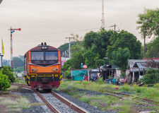 Khonkaen Train Railway station Stock Photography