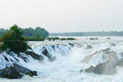 khonphaphengvattenfall Royaltyfri Fotografi