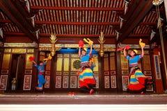 Khoo Kongsi中国人寺庙 免版税库存照片
