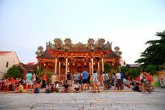 Khoo Kongsi中国人寺庙 免版税库存图片